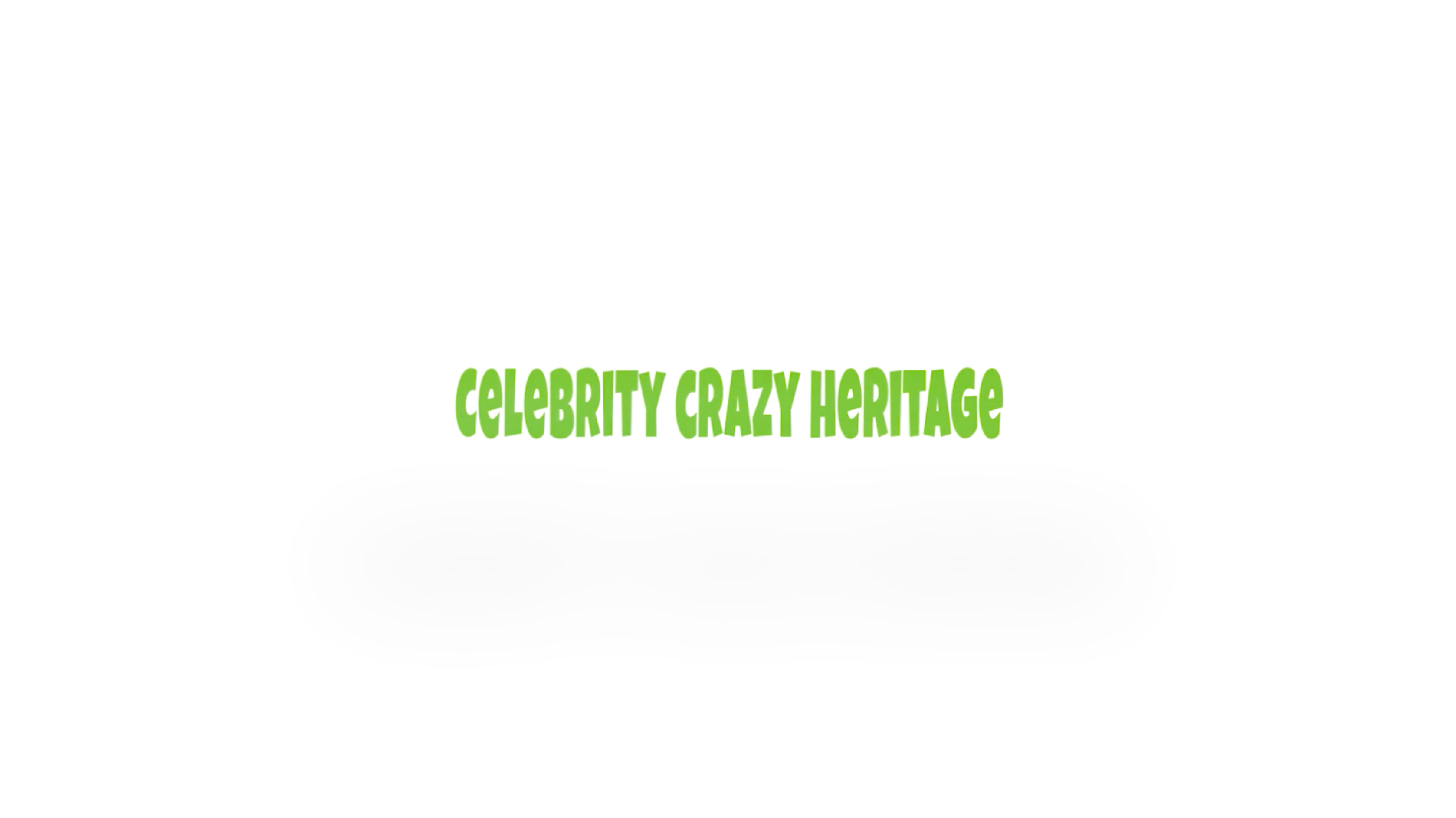 Celebrity CRAZY Heritage TV Format