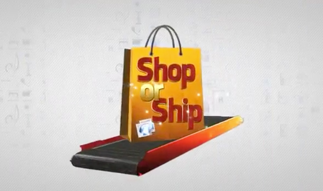 Shop or ship TV Format